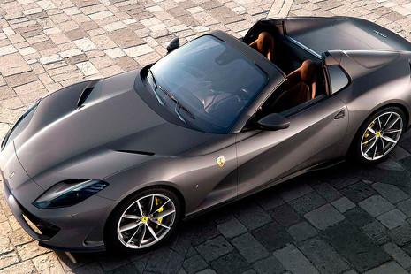 Ferrari 812 GTS: ¿el descapotable más potente del mundo?