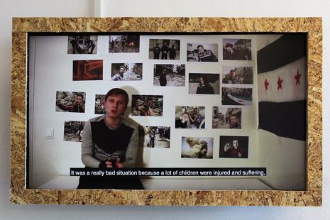 La obra de arte que quiere sonrojar a la clase política por su pasividad con los refugiados