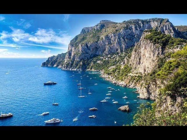 Capri, naturaleza e historia