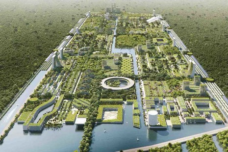 La ciudad del futuro: un vergel futurista en plena Riviera Maya